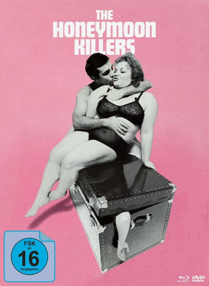 The Honeymoon Killers (1969) (Cover A, s/w, Limited Edition, Mediabook, Blu-ray + DVD)