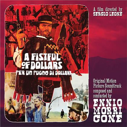 "Ennio Morricone (*1928) - Fistful Of Dollars - OST (Gatefold, Red Vinyl, 10"" Maxi)"