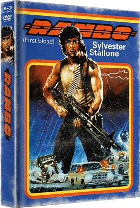 Rambo - First Blood (Cover B, Limited Edition, Mediabook, Blu-ray + DVD)