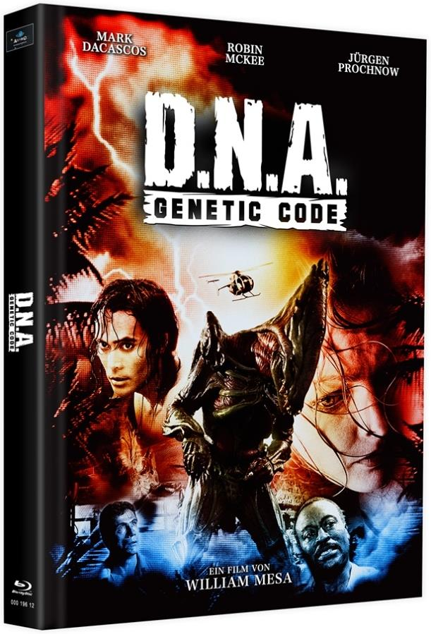 D.N.A. - Genetic Code (1996) (Cover E, Limited Edition, Mediabook, 2 Blu-rays)