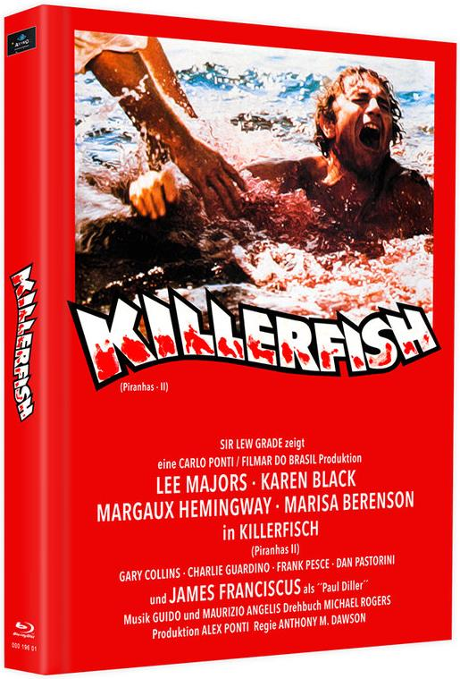 Killerfish (1979) (Cover I, Limited Edition, Mediabook, Blu-ray + 4K Ultra HD)