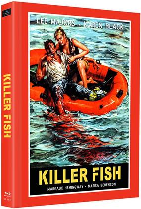 Killer Fish (1979) (Cover E, Edizione Limitata, Mediabook, 2 Blu-ray)