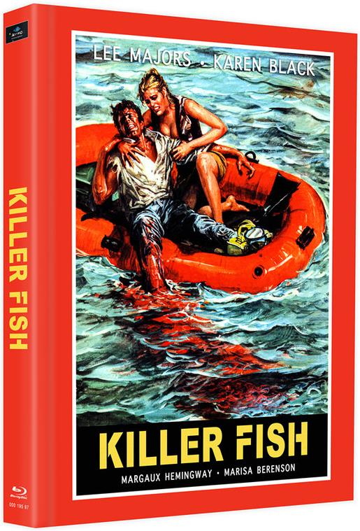 Killer Fish (1979) (Cover E, Limited Edition, Mediabook, 2 Blu-rays)