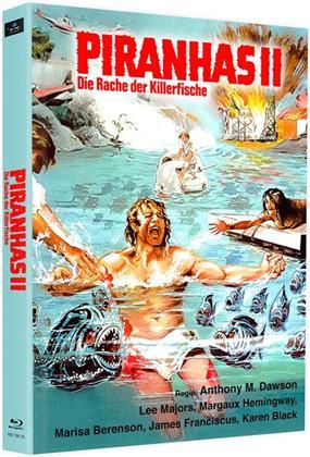 Piranhas 2 - Die Rache der Killerfische (1979) (Cover H, Edizione Limitata, Mediabook, 2 Blu-ray)