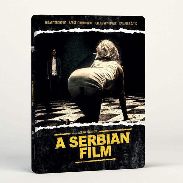 A Serbian Film (2010) (FuturePak, Limited Edition, Uncut, Blu-ray + DVD + CD)