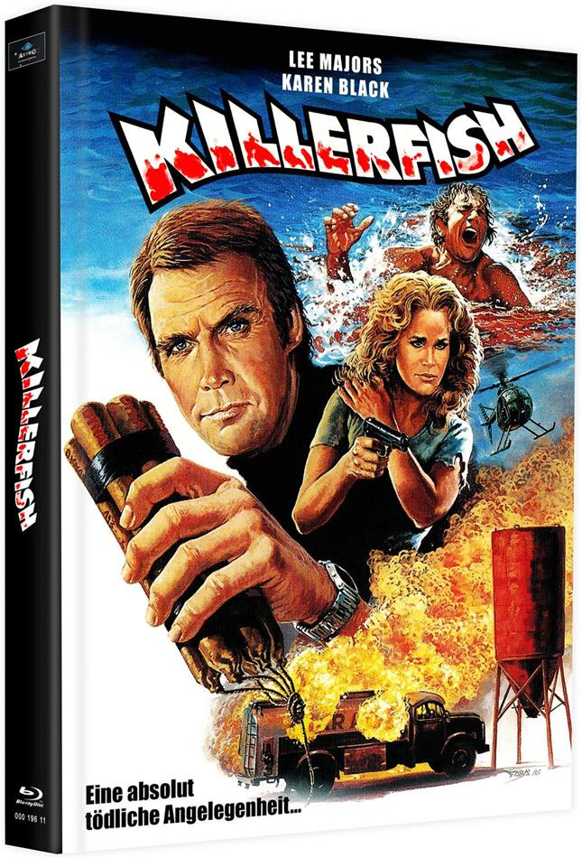 Killerfish (1979) (Cover L, Limited Edition, Mediabook, 2 Blu-rays)