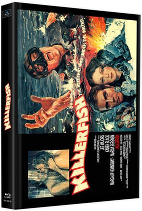 Killerfish (1979) (Cover C, Limited Edition, Mediabook, 2 Blu-rays)