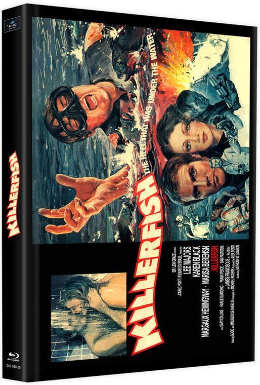 Killerfish (1979) (Cover C, Edizione Limitata, Mediabook, 2 Blu-ray)