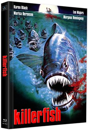 killerfish (1979) (Cover J, Limited Edition, Mediabook, 2 Blu-rays)