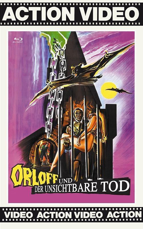 Orloff und der unsichtbare Tod (1970) (Grosse Hartbox, Cover Lila, Edizione Limitata)