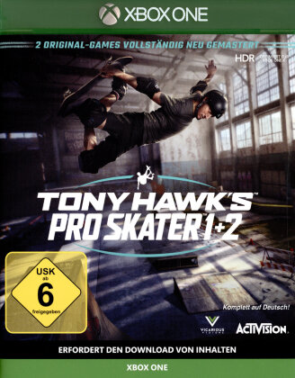 Tony Hawks Pro Skater 1+2 Remastered (German Edition)