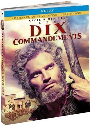 Les dix commandements - Le film en deux versions : 1923 & 1956 (1956) (Limited Edition, Mediabook, 3 Blu-rays)