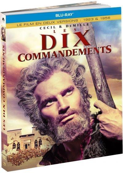 Les dix commandements - Le film en deux versions : 1923 & 1956 (1956) (Limited Edition, Mediabook, 3 Blu-rays)