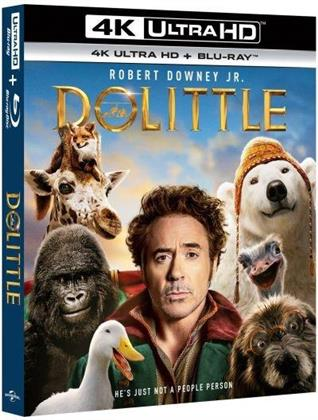 Le Voyage du Dr Dolittle (2020) (4K Ultra HD + Blu-ray)