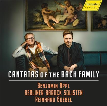 Bach Familie, Reinhard Goebel, Benjamin Appl & Berliner Barock Solisten - Cantatas Of The Bach Family