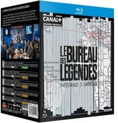 Le Bureau des Légendes - Saisons 1 à 5 (20 Blu-rays)