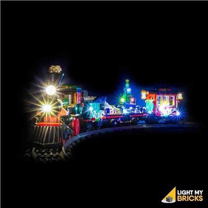 Light My Bricks - LED Licht Set für LEGO® 10254 Festlicher Weihnachtszug