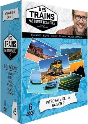 Des trains pas comme les autres - Saison 2 (6 DVDs)