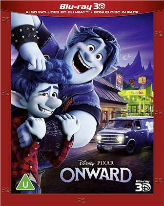Onward (2020) (Blu-ray 3D + 2 Blu-rays)