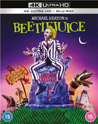 Beetlejuice (1988) (4K Ultra HD + Blu-ray)