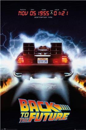 Back To The Future: Delorean - Maxi Poster