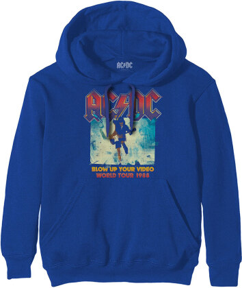 AC/DC Unisex Pullover Hoodie - Blow Up Your Video