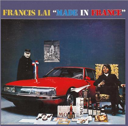 Francis Lai - Made In France (Limited, Papersleeve Limited Edition, Transparent Blue Vinyl, LP)