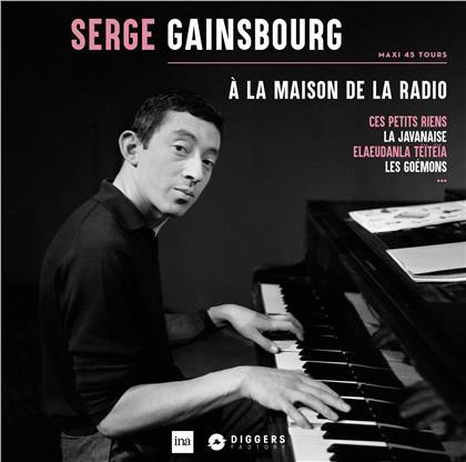 Serge Gainsbourg - A La Maison De La Radio (Limited, LP)