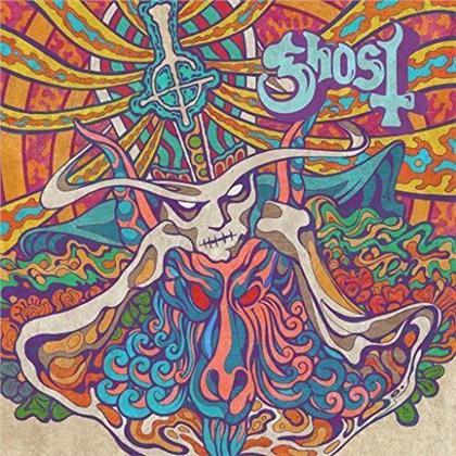 "Ghost (B.C.) - Kiss The Go-Goat / Mary On A Cross (7"" Single)"