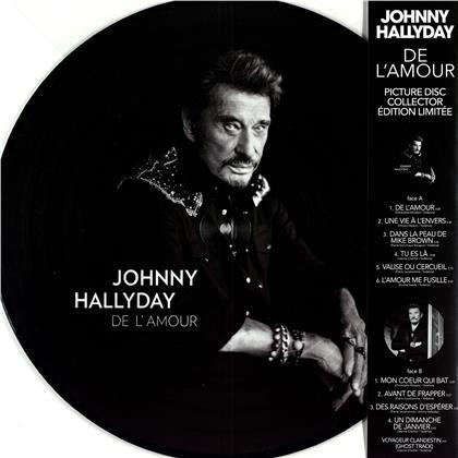 Johnny Hallyday - De L'Amour (2020 Reissue, Picture Disc, LP)