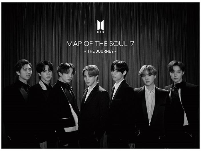 "BTS (Bangtan Boys) (K-Pop) - Map Of The Soul: 7 The Journey (""C"" Version, Universal Japan, Japan Edition)"