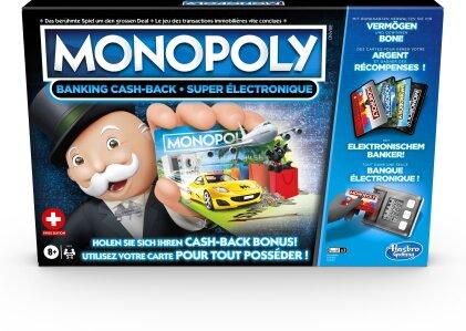 Monopoly Banking Cash-Back - ab 8 Jahren, 2-4