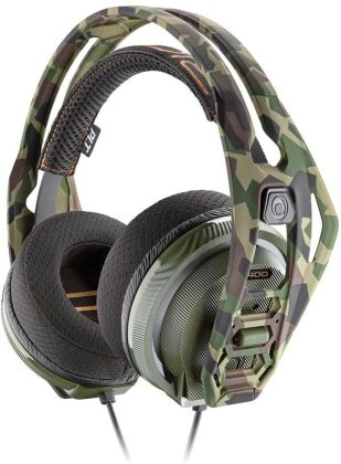 RIG 400 Stereo Gaming Headset - camo forest