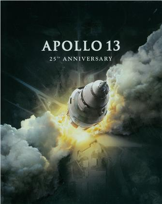 Apollo 13 (1995) (25th Anniversary Edition, Limited Edition, Steelbook, 4K Ultra HD + Blu-ray)