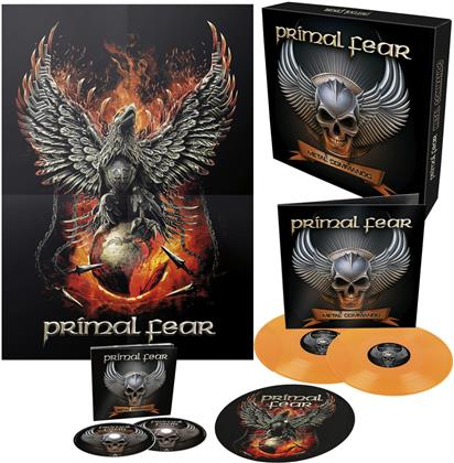 Primal Fear - Metal Commando (+ Poster, Limited Box, 2 LPs + 2 CDs)