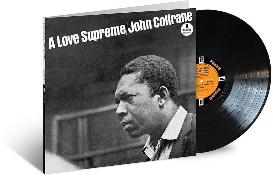 John Coltrane - A Love Supreme (2020 Reissue, Verve, LP)