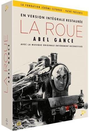 La Roue (1923) (Restaurierte Fassung, 4 Blu-rays + Booklet)