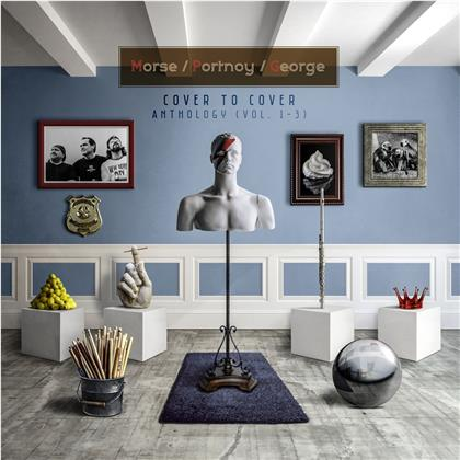 Neal Morse, Mike Portnoy & Randy George - Cover To Cover Anthology - (Vol. 1-3) (3 CDs)