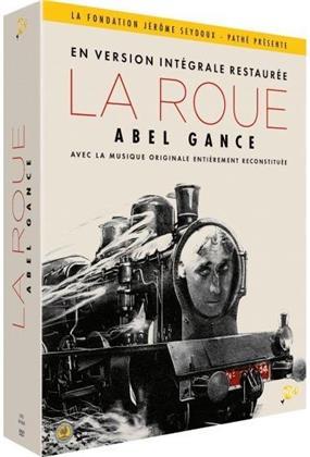 La Roue (1923) (Restaurierte Fassung, 4 DVDs + Booklet)