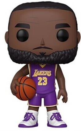 Funko Pop! Nba: - Lakers - Lebron James 10 (Purple Jersey)