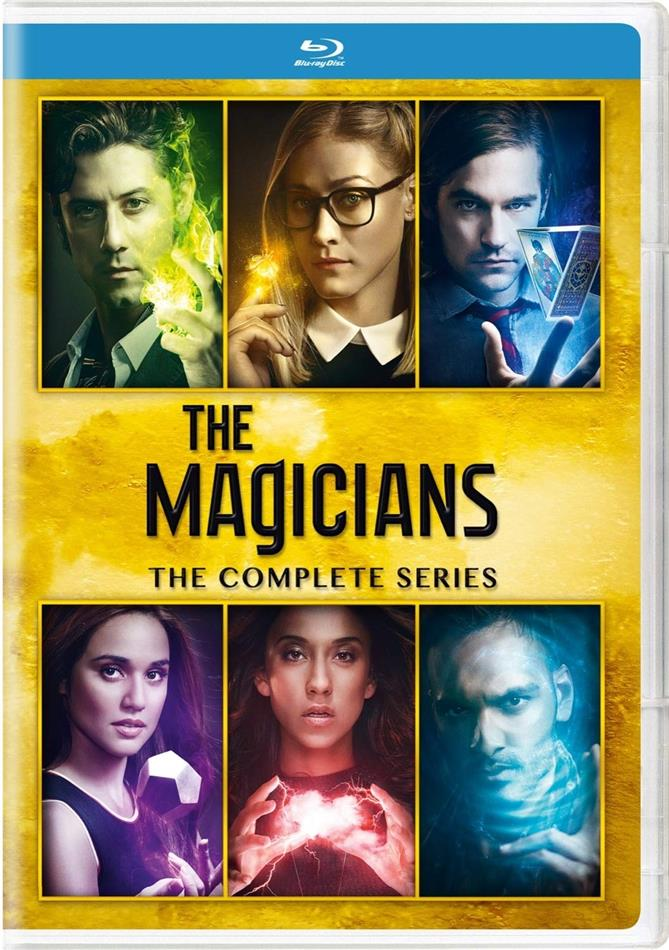 The Magicians - The Complete Series (15 Blu-rays)