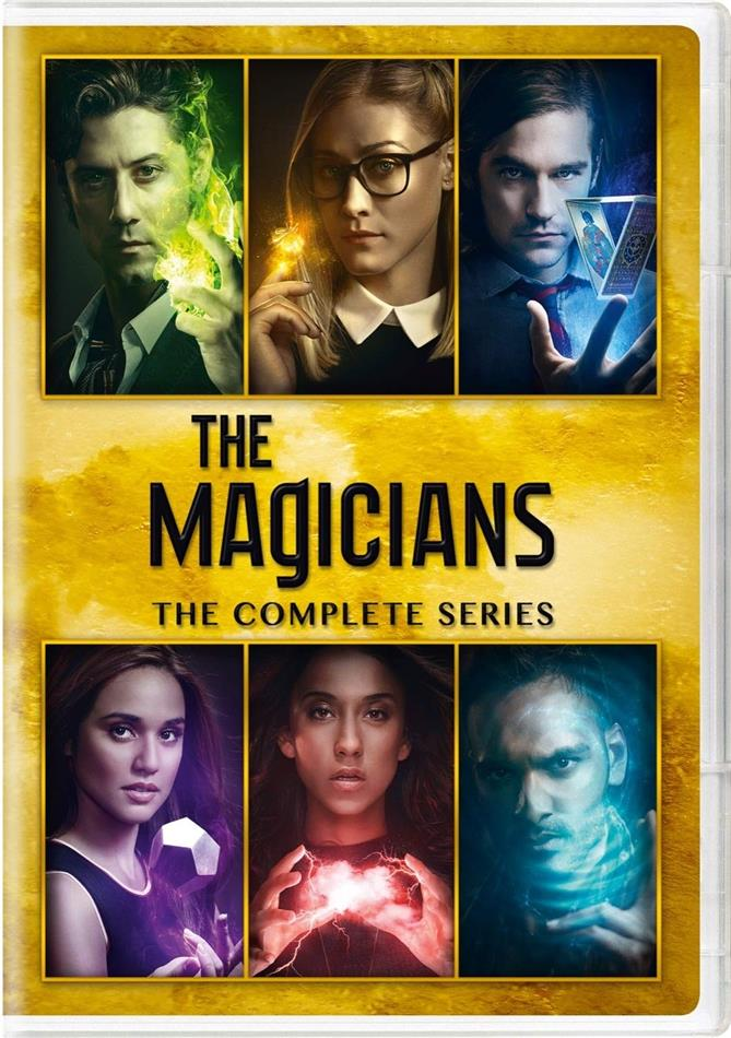 The Magicians - The Complete Series - Seasons 1-5 (19 DVDs)
