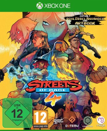 Streets of Rage 4 (German Edition)