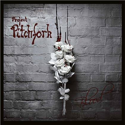 Project Pitchfork - Blood (2020 Reissue, Trisol, Limited, Red Splatter Vinyl, 2 LPs + 2 CDs)