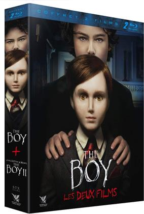 The Boy (2016) / La Malédiction de Brahms : The Boy 2 (2020) (2 Blu-rays)