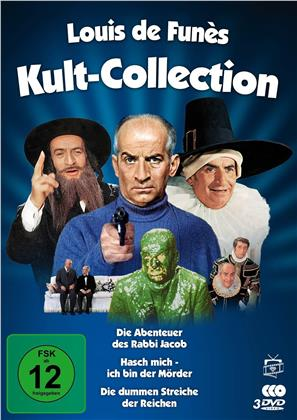 Louis de Funès Kult-Collection - 3 legendäre Kultfilme (Filmjuwelen, 3 DVDs)