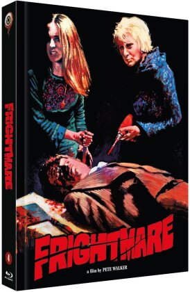 Frightmare (1974) (Cover C, Pete Walker Collection, Limited Edition, Mediabook, Blu-ray + DVD)