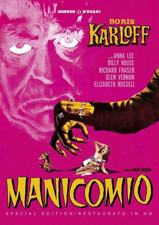 Manicomio (1946) (Horror d'Essai, restaurato in HD, s/w, Special Edition)