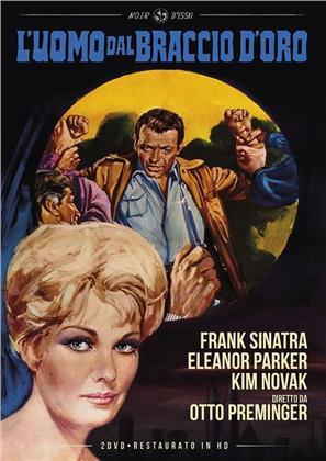 L'uomo dal braccio d'oro (1955) (Noir d'Essai, restaurato in HD, s/w, 2 DVDs)