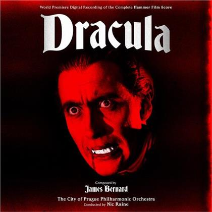 James Bernard, Nic Raine & The City of Prague Philharmonic Orchestra - Dracula / The Curse Of Frankenstein - Soundtrack (Gatefold, Green/Red Vinyl, LP)